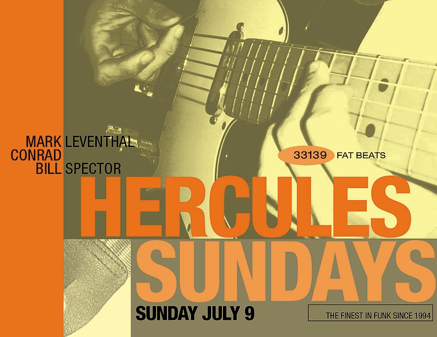 Hercules Sundays at The Living Room
