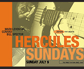Hercules Sundays at The Living Room - tagged with stretch armstrong