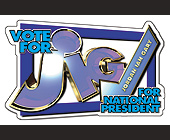Vote for Jordan Ian Gary for National President - tagged with president
