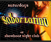 Sabor Latino at Showboat Nightclub - tagged with no sneakers