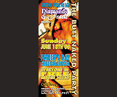Diamonds and Pearls Butt Naked Party - 1050x2550 graphic design