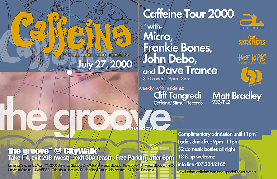 Caffeine Culture Tour at The Groove