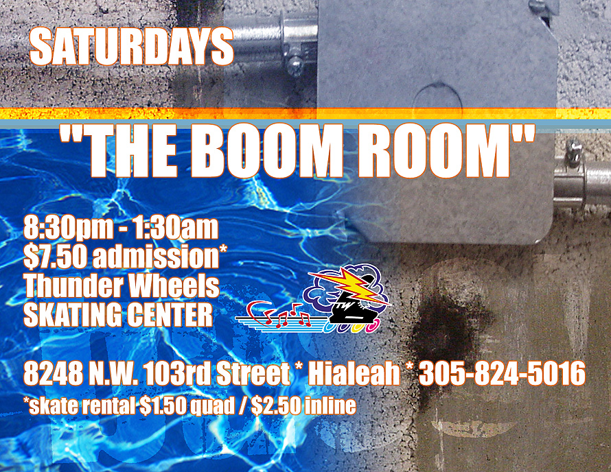 Boom Room at Thunder Wheels in Hialeah