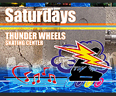 Boom Room at Thunder Wheels in Hialeah - Skating Graphic Designs