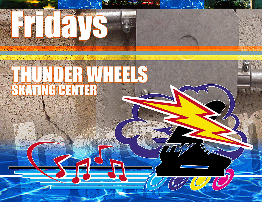 Thunder Wheels Skating Center Mad House Party