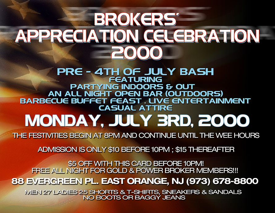 Brokers Appreciation Celebration