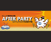 Club Space After Party Saturday Nights - tagged with orange