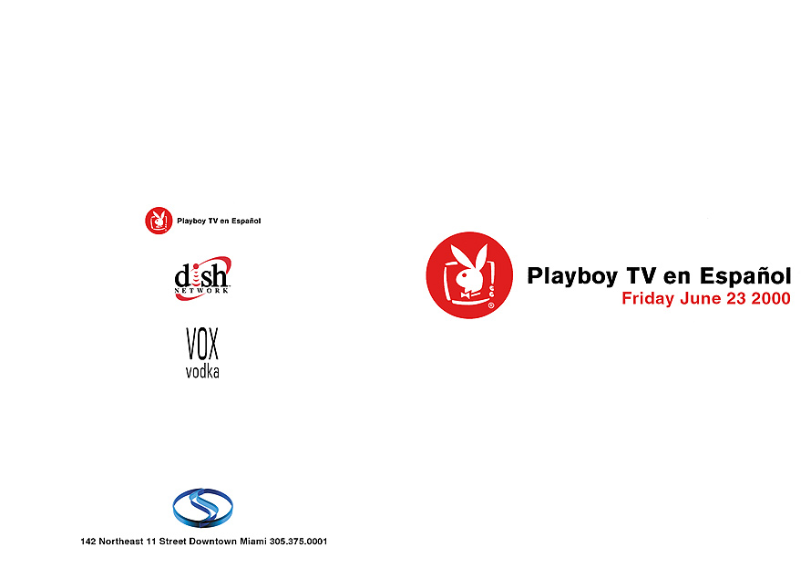 Playboy TV en Espanol Open Bar Launch Party