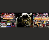 Black Cat Entertainment Presents Summer Slam 2 Wheel 2000 Bike Expo - tagged with zach thomas