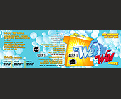 3 Wet 'N Wild Parties at Madhouse - 5250x1650 graphic design