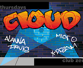 Cloud 9 Thursdays at The Zei Club - Washington Graphic Designs