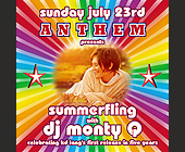 Anthem Summefling at Crobar - created July 2000