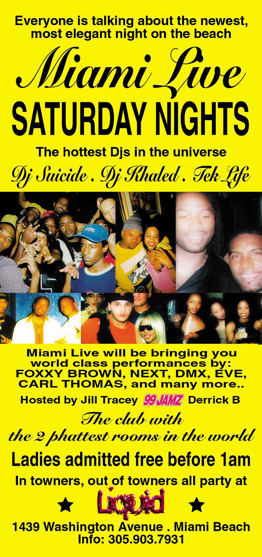 Miami Live at Liquid