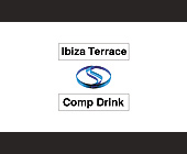 Ibiza Terrace Comp Drink - Downtown Miami Graphic Designs