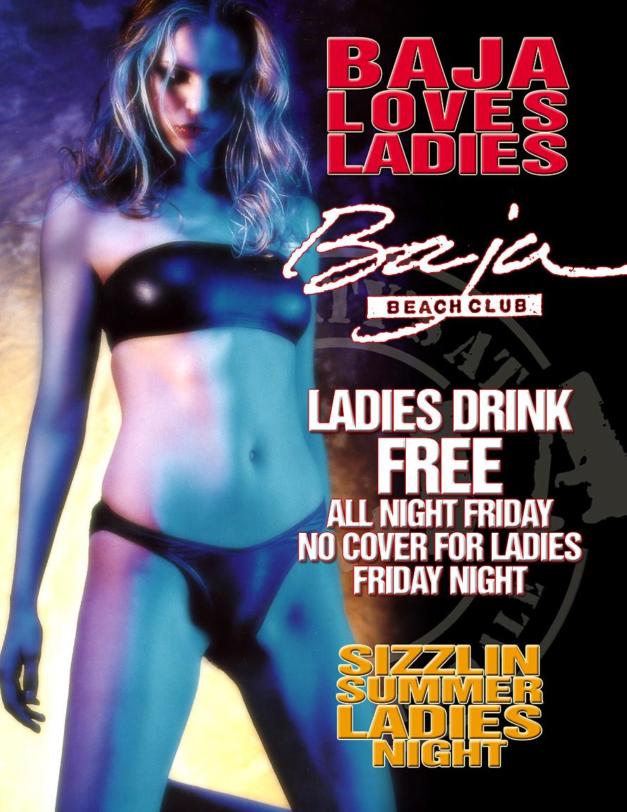 Baja Loves Ladies at Baja Beach Club