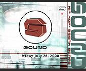 Sound at The 7th Floor - created July 2000