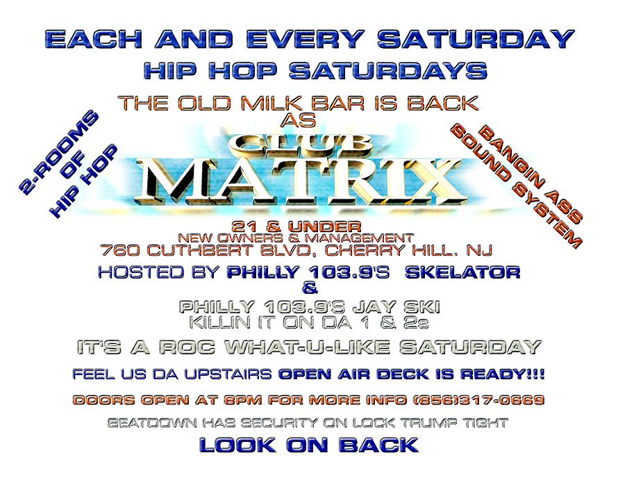 Hip Hop Night in Club Matrix
