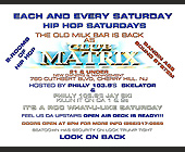 Hip Hop Night in Club Matrix - created July 17, 2000