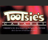 Tootsie's Cabaret Buy One Drink Get One Free - created July 17, 2000