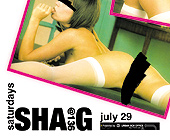 Shag Saturdays at Club 136 - 136 Nightclub Graphic Designs