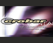 Complimentary Admission at Crobar - created July 19, 2000