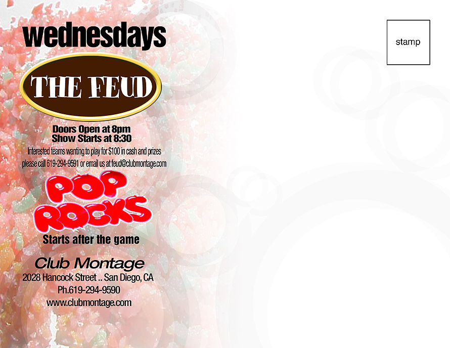 Pop Rocks Event at Club Montage