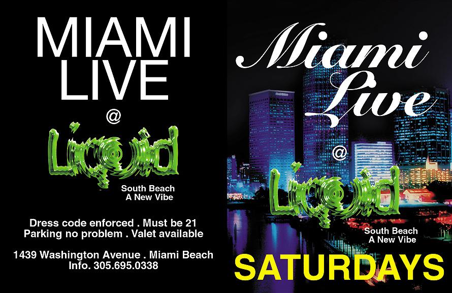Miami Live at Liquid