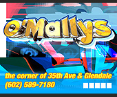 O'Mallys Weekly Schedule - Arizona Graphic Designs