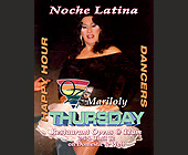 Noche Latina at Oz Restaurant - tagged with happy hour