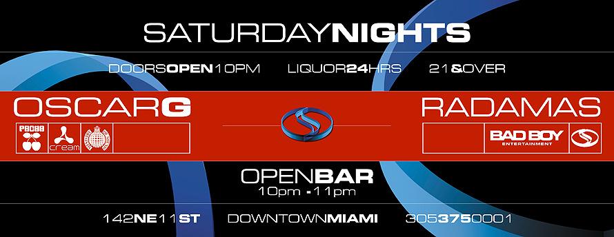 Saturday Nights at Club Space