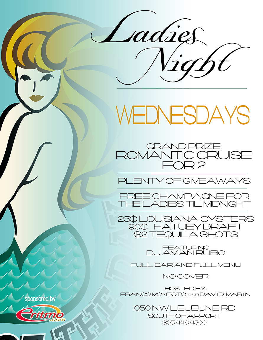 Ladies Night Wednesdays at Catch of the Day