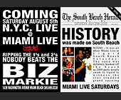 Biz Markie Live at Liquid - tagged with table reservations available