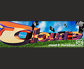 Cloud 9 Thursdays - 5250x1650 graphic design