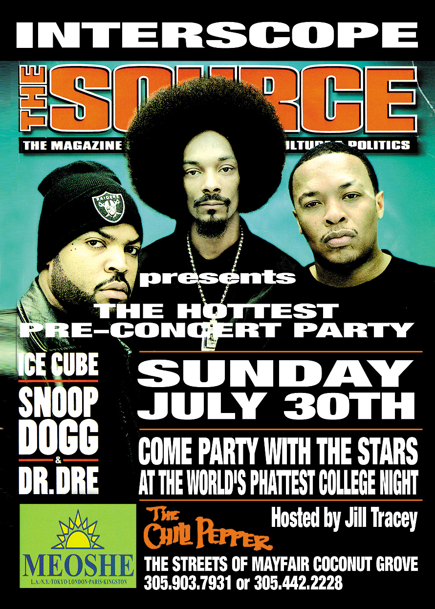 Interscope Pre Concert Party