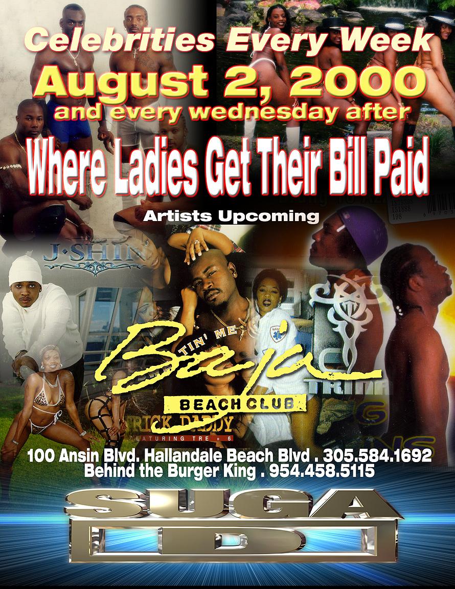 Cash Money Wednesdays at Baja Beach Club