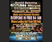 Cash Money Wednesdays at Baja Beach Club - Flyer Printing