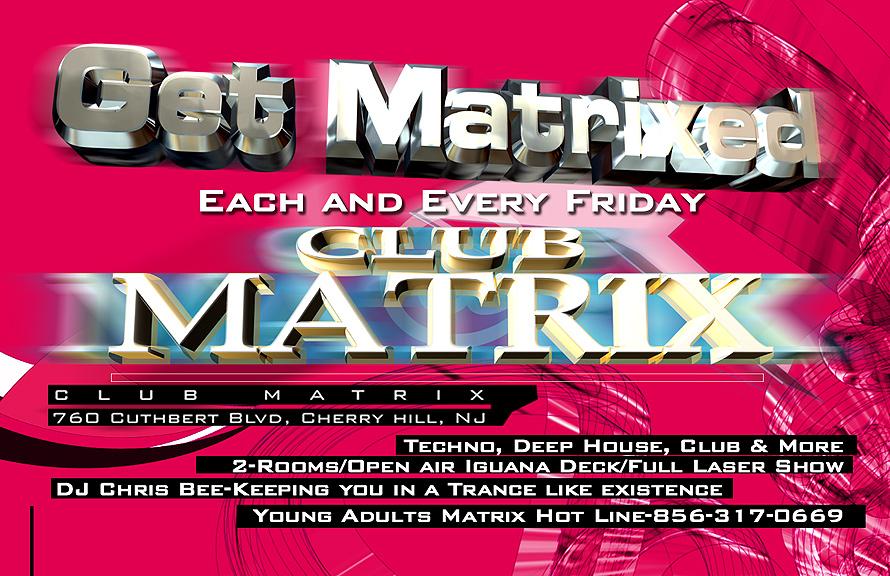 Friday at Club Matrix