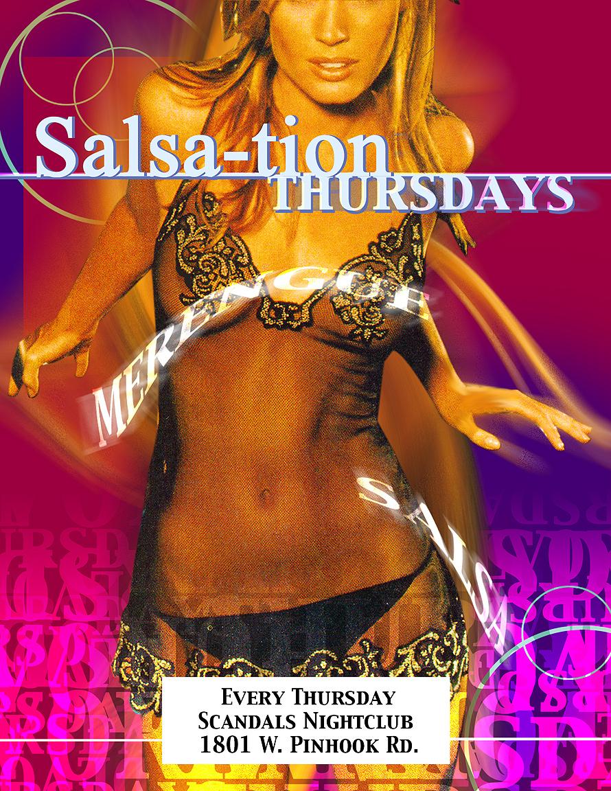 Salsation Thursdays at Scandals Nightclub