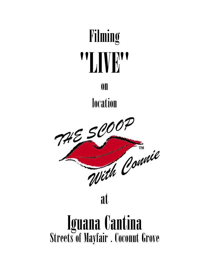 The Scoop with Connie at Cafe Iguana