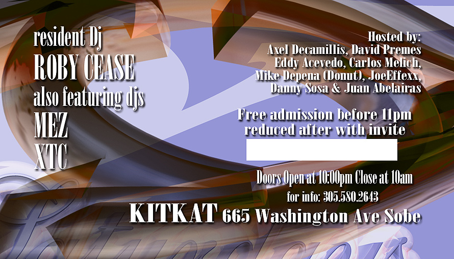 Secret Saturdays at Kit Kat Nightclub
