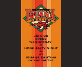 Hospitality Night at Cafe Iguana Cantina in Coconut Grove - tagged with wine