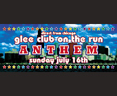 Anthem Glee Club Crobar - 1050x2550 graphic design