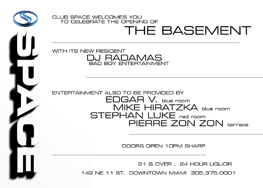 The Basement at Club Space