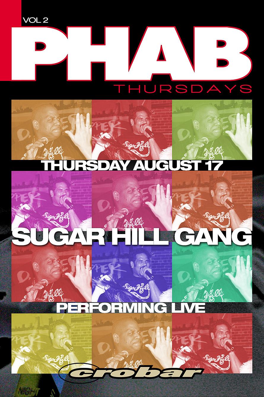 Sugar Hill Gang Live at Phab Thursdays