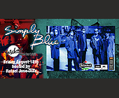 Simply Blue at Satchmo's - Rock Graphic Designs