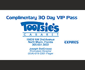 Tootsie's VIP Pass - tagged with map