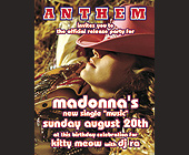 Anthem Madonna at Crobar - tagged with michael tronn and paolo pincente