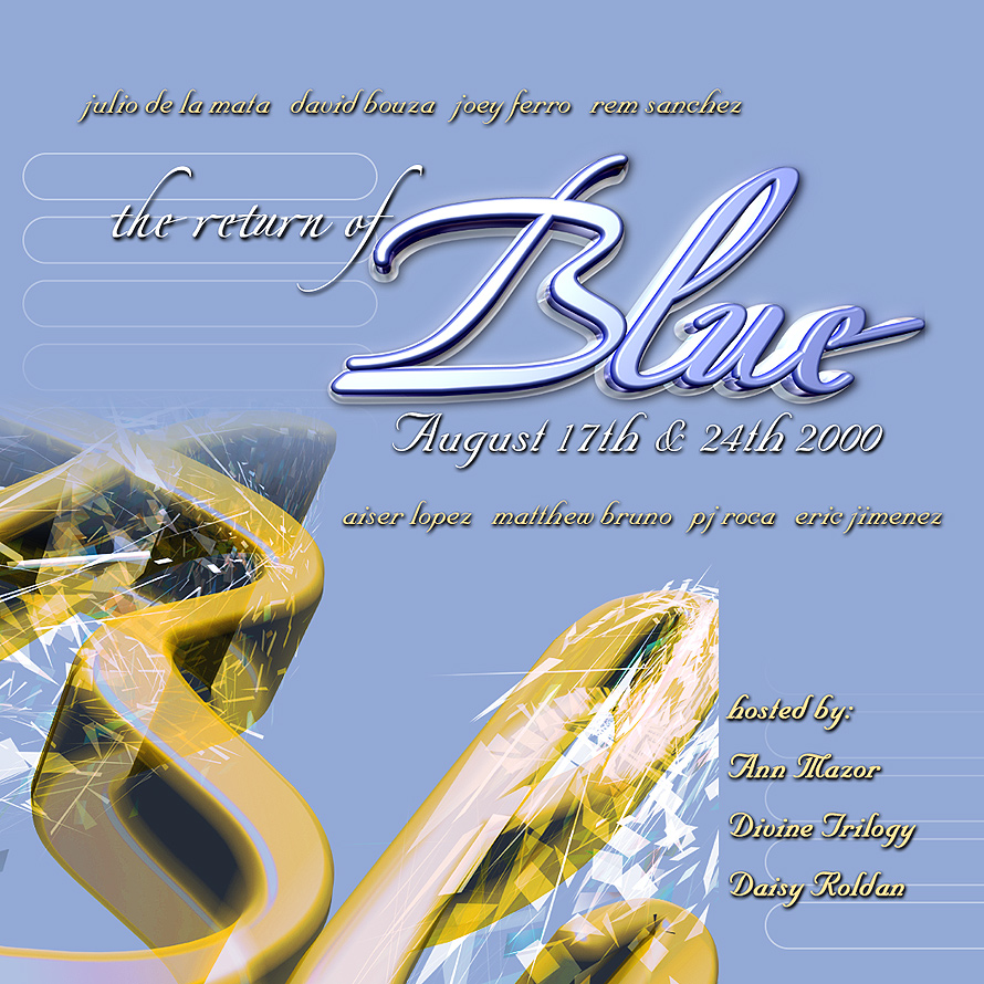 The Return of Blue in Coconut Grove