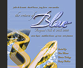 The Return of Blue in Coconut Grove - 1050x1050 graphic design