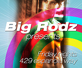 Big Rodz Presents Friday Nights - Gay and Lesbian Graphic Designs